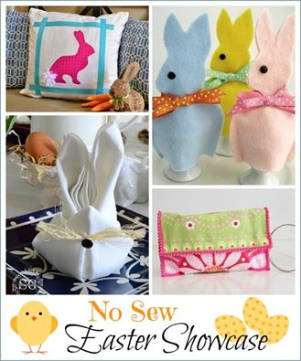No-sew Easter Showcase :: WorthingCourtBlog.com