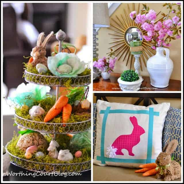 Spring and Easter projects from WorthingCourtBlog.com