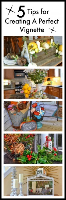 5 Tips for Creating the Perfect Vignette :: WorthingCourtBlog.com