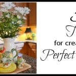 5 Tips For Putting Together A Vignette {Without Freezing Out Of Fear And Indecision}