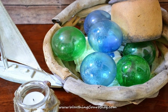 How to make glass fishing floats :: WorthingCourtBlog.com