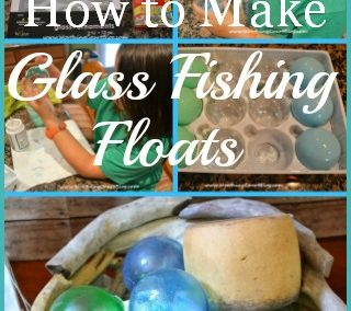 How To Make Glass Fishing Floats Using Clear Christmas Ornaments