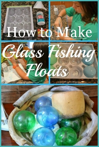How To Make Glass Fishing Floats Using Clear Glass Christmas Ornaments