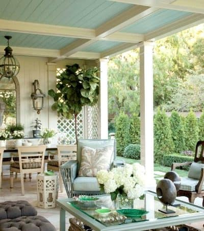 Amazing covered porch