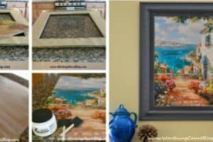 How To Upcycle And Totally Transform A Piece Of Art {On A Tight Budget}