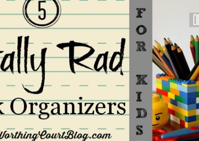 5 On Friday: 5 Totally Rad Desk Organizers For Kids