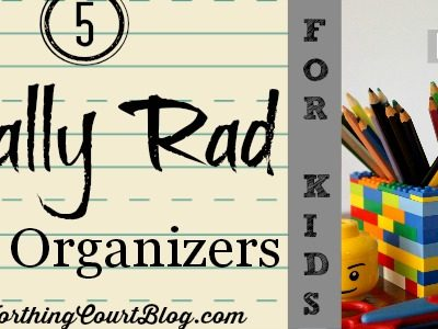 5 Totally Rad Desk Organizers for Kids || WorthingCourtBlog.com
