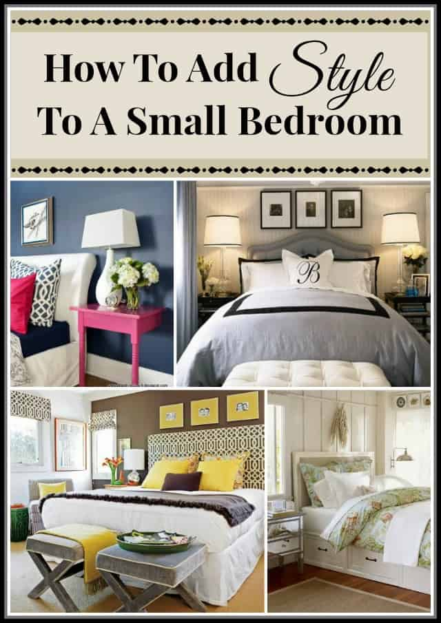 How to add style to a small bedroom