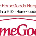 $100 HomeGoods Gift Card Giveaway!