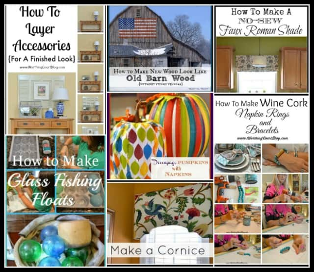 Loads of decorating tutorials, solutions to challenging design dilemmas and decorating inspiration || WorthingCourtBlog.com