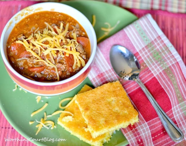 30 Minute Chili Recipe - Yummy and hearty!