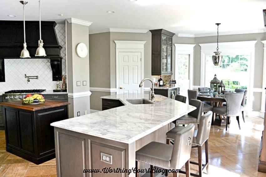 Remodel kitchen layout    Worthing Court