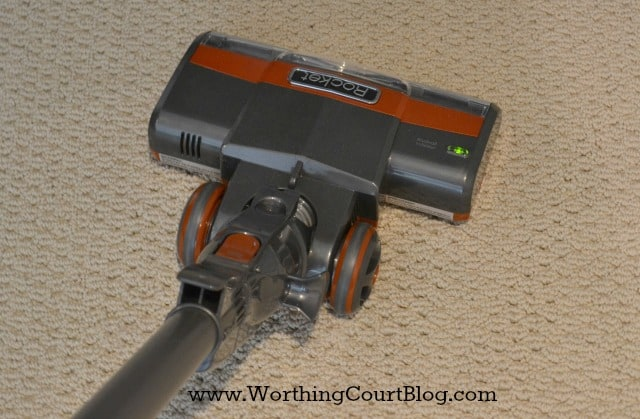 Shark Rocket vacuum cleaner review