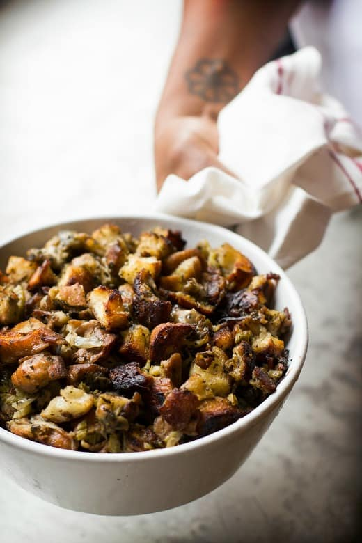 Recipe for oyster stuffing