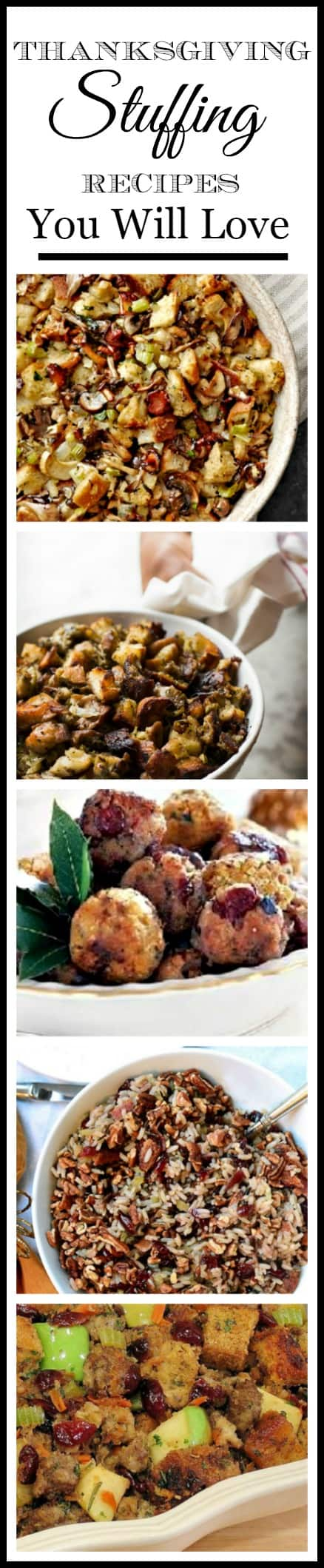 Yummy stuffing (or dressing) recipes for Thanksgiving