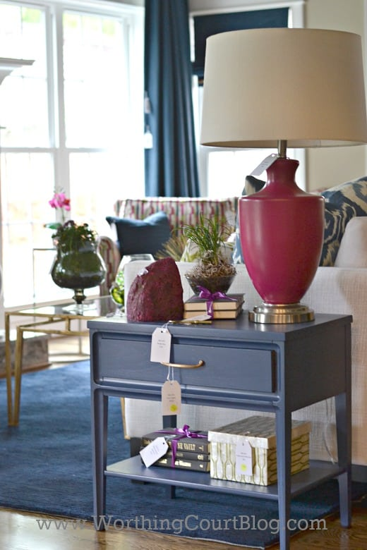 Tour of the Chic Chateau showhouse decorated in mid-century modern style