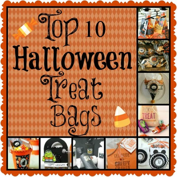 top 10 adorable halloween treat bags - Non Scary Halloween Decorations