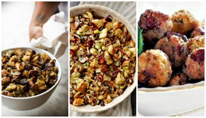 Thanksgiving Stuffing {Or Dressing} Recipes #stuffing recipe #dressingrecipe #thanksgiving #sidedish