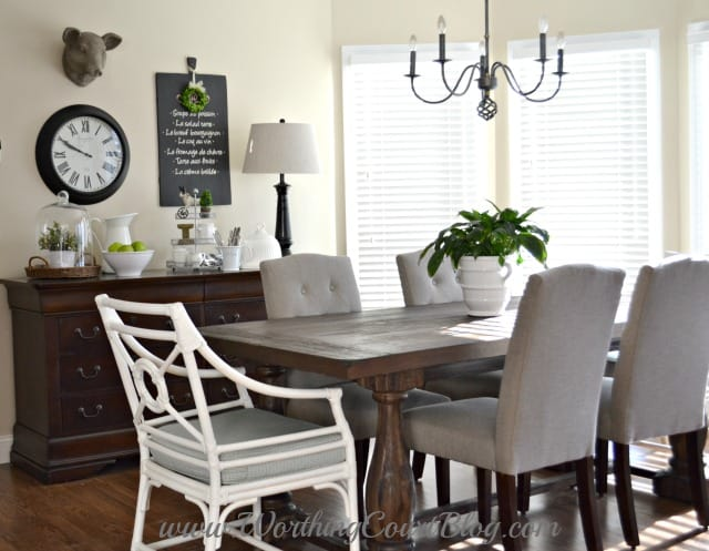 Use A Dresser In The Kitchen Or Dining Room To Store And Table Linens
