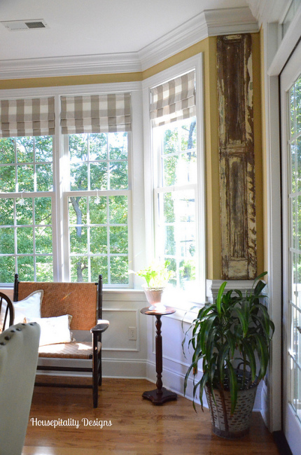 Use shutters as a architectural element