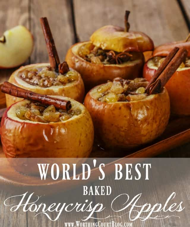 The best tasting baked apples you'll ever eat! || Worthing Court
