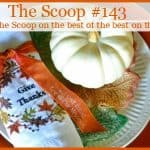 The Scoop Link Party #143