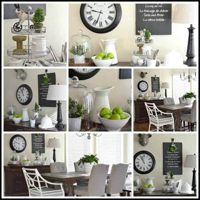 adding farmhouse style to the kitchen and dressers arent just for bedrooms worthing court