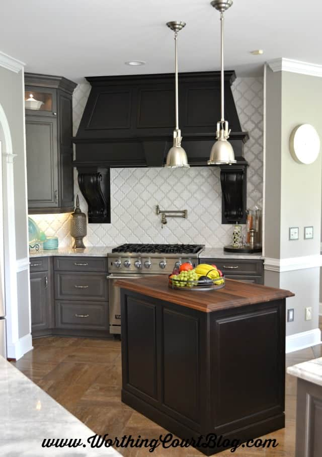 Gorgeous kitchen remodel with before and afters