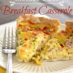 Your Family Will Love You For Making This Yummy Breakfast Pie Casserole Recipe