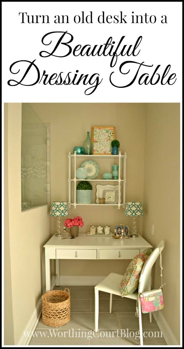 Farmhouse Vanity Desk
