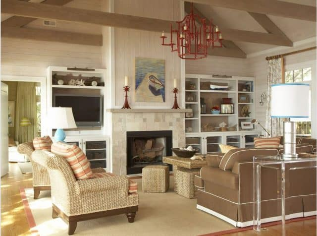 A beautifully designed living area