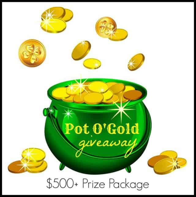 Pot O Gold Giveaway Package - $500 Value!