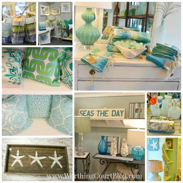 A beach decor shop filled with diy inspiration