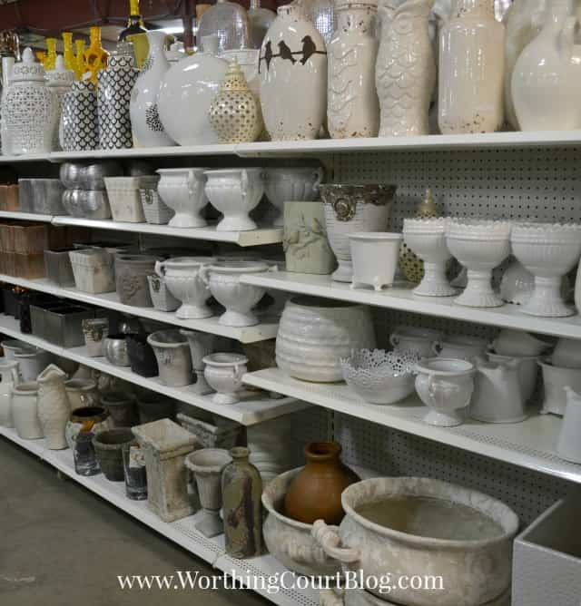 White and gray home decor accessories