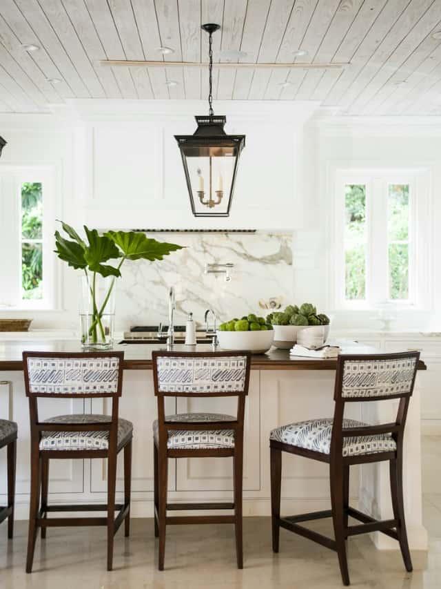 A pretty kitchen by J.K. Kling Design Associates