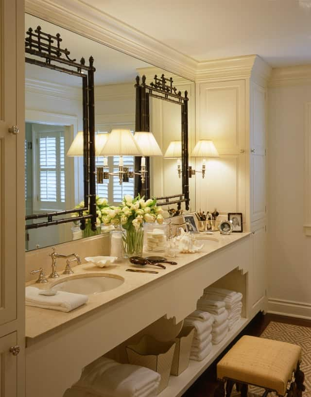 Master bathroom by JK Kling Assoc.