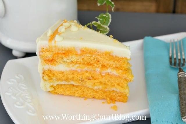 Recipe for Orange Creamsicle Cake