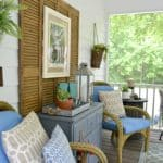 Southern Screen Porch Reveal