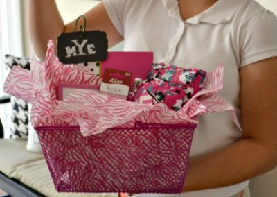 A Basket Full Of Goodies For A Tween Birthday