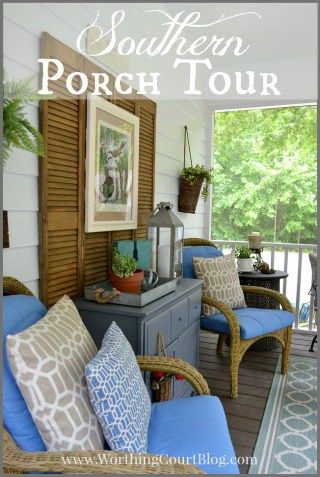 Southern Screen Porch Tour.