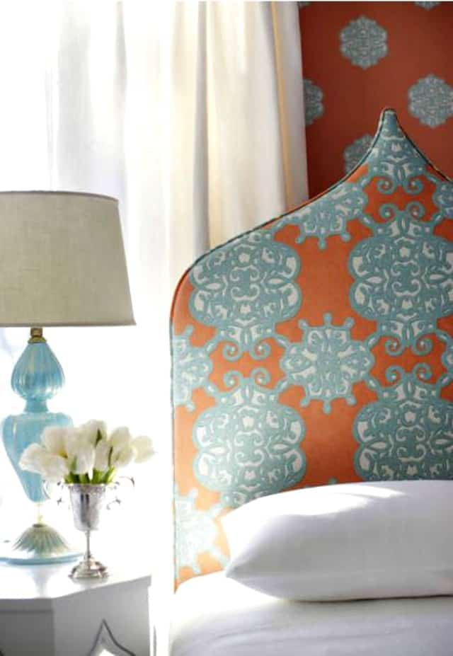 5 On Friday: Coral And Turquoise Decor | Worthing Court