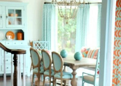 5 On Friday: Coral And Turquoise Decor