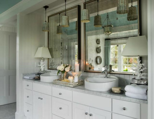 How to create an elegant master bath on a budget for Master bathroom on a budget
