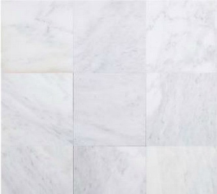 Carrara White Polished Marble Tiles from Floor & Decor