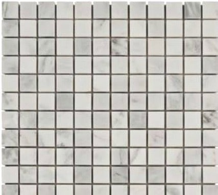 Carrara White Mosaic Marble Tile from Floor & Decor