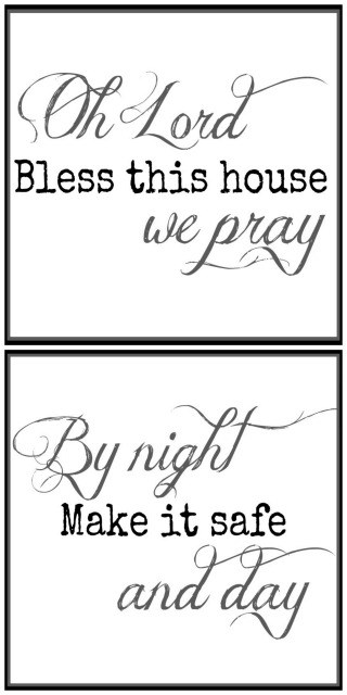 Free Bless This House Printables