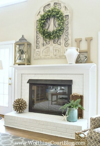Fireplace makeover before and after worthing court - Fireplace mantel designs in simple and sophisticated style ...