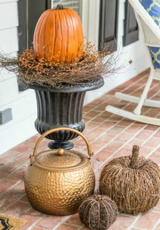 How To Create A Beautiful Fall Planter The Fast And Easy Way