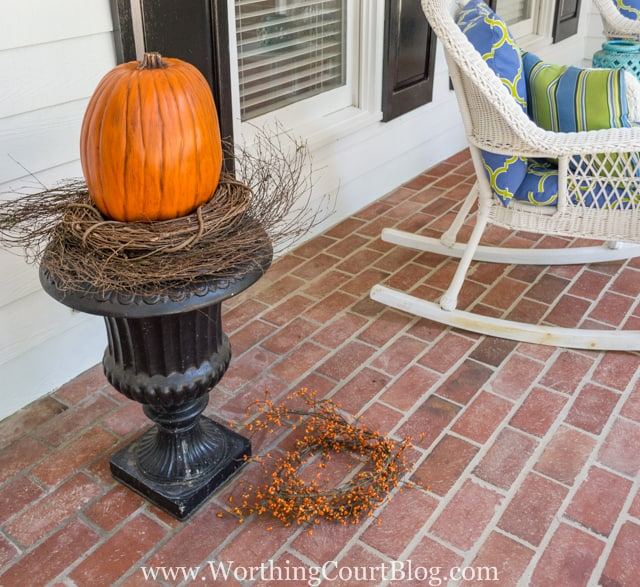 How To Create A Fall Urn The Fast And Easy Way - Step 3