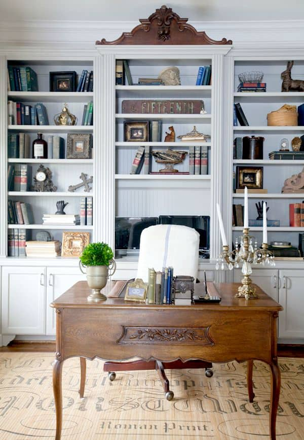 French farmhouse office